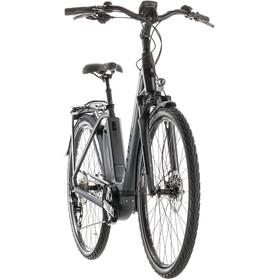 Cube Town Sport Hybrid Pro 400 sähköavusteinen kaupunkipyörä Easy Entry , harmaa